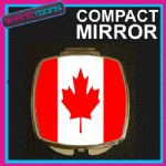 CANADA CANADIAN FLAG COMPACT LADIES METAL HANDBAG GIFT MIRROR